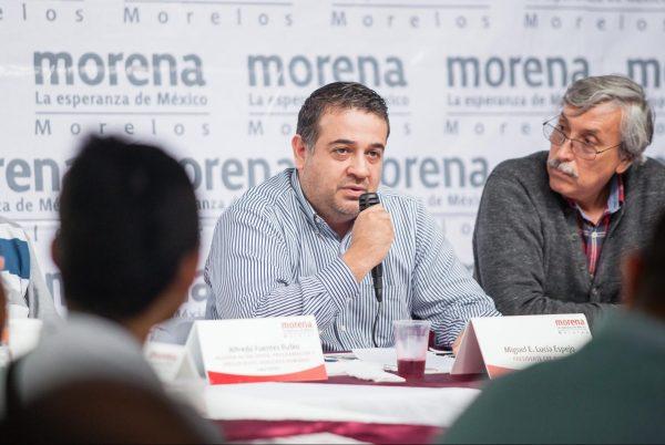 Miguel Lucia, presidente estatal de Morena